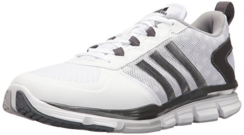 adidas Men's Freak X Mid Cross Trainer, White/Carbon Met. Light Onix, (12...