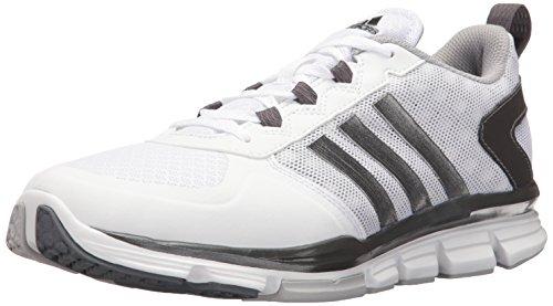 adidas Men's Freak X Mid Cross Trainer, White/Carbon Met. Light Onix, (12 M US)