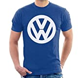 Official Volkswagen Classic White VW Logo Men's T-Shirt