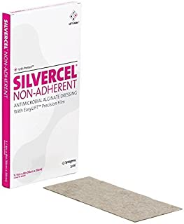 Silvercel Non-Adherent Antimicrobial Alginate Dressing 4 x 8 by Systagenix
