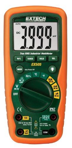 Extech EX505 CAT IV-600V True RMS Industrial MultiMeter