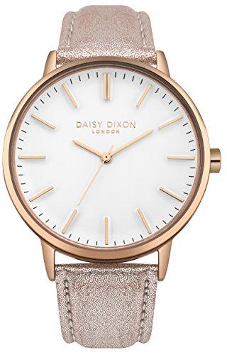 Daisy Dixon London Damen Armbanduhr Analog Quarz Leder DD061CRG