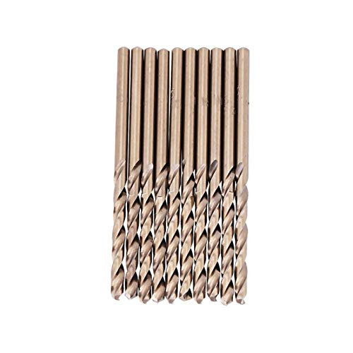 Drill Bit Set Drill Bit Set Drill Bit Set Mini Drill Bit Set with HSS CO/M35 for Drilling on Stainless Steel(3.5mm)
