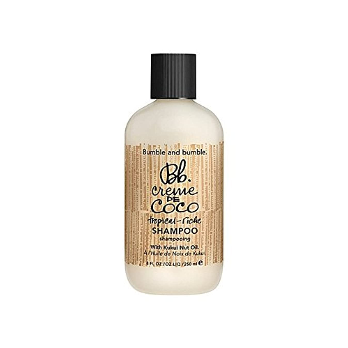 枯渇する医療過誤租界Bumble & Bumble Creme De Coco Shampoo 1000ml - バンブルアンドバンブルクリーム?デ?ココシャンプー千ミリリットル [並行輸入品]