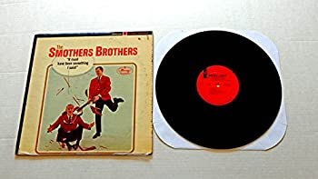 The Smothers Brothers IT MUST HAVE BEEN SOMETHING I SAID! - Mercury Records 1964 - USED Vinyl LP Record - 1964 STEREO Pressing -Hiawatha Civil War Song Crabs Walk Sideways