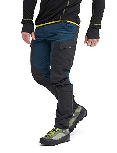 RevolutionRace Herren GPX Pants, Hose zum Wandern und für viele Outdoor-Aktivitäten, Diesel Blue, XS