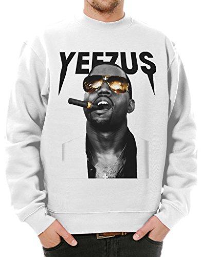 Ulterior Clothing Yeezus Kanye Cigar and Shades Sweatshirt