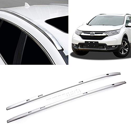 Yeeoy Aluminum Roof Rack Top Side Rails Carries Luggage Cargo Carrier Silver Replacement for 2017 2018 Honda CRV