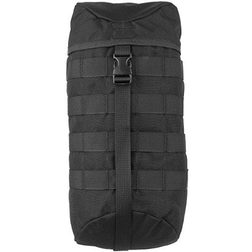Wisport Zusatztaschen + inkl. E-Book | abnehmbare Seitentaschen für Wanderrucksack | Schwarze Außentaschen | Seitentasche | 5L | Cordura | Black