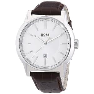 Hugo Boss 1512912 – Reloj de Cuarzo para Hombre, con Correa de Cuero,