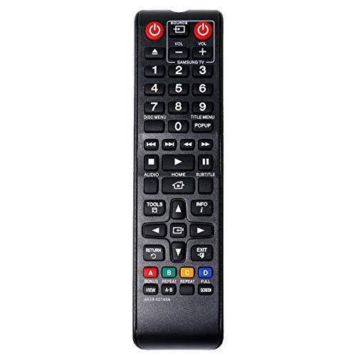 VINABTY AK59-00149A Ersatz der Fernbedienung für Samsung DVD BD-E5500 BD-ES5000/DE BD-F5100 BD-F5500 BD-F5800/XN BD-H5500 BD-J4500 BD-J5500 BD-H5900 BD-J5700 BD-J5900 BD-JM57C