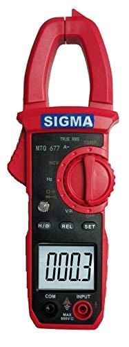 Sigma Instruments Digital AC Clamp Meter SIGMA MTQ677 TRMS, 400 Amp AC