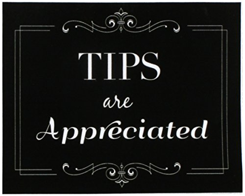 Wall26 Tips are Appreciated Sticker/Decal Store Sign