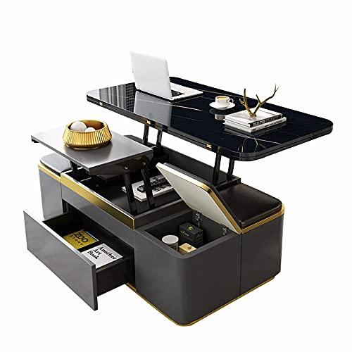 Mesa de centro plegable multifuncional Mesa de comedor moder
