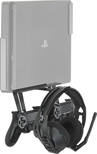 GamingXtra Supporto per controller e cuffie per Sony PS4 and Xbox One Consoles – Nero