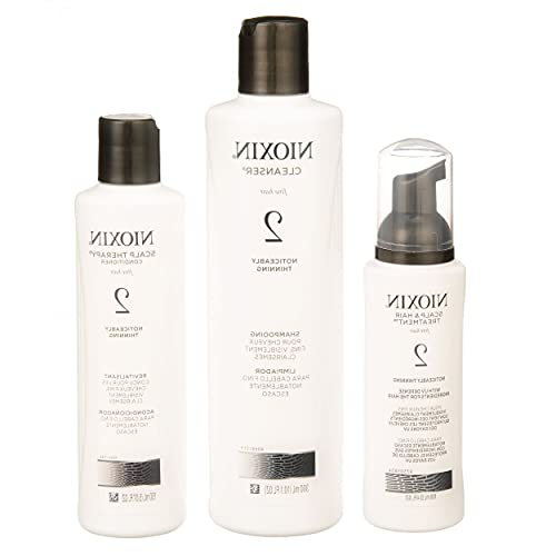 Lim-style Hair System K2 K- Cleanser 10 Oz, Scalp Therapy 5 Oz and Treatment 3.3 Oz Model (10083-15927)