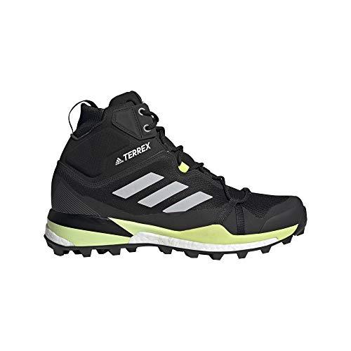 adidas Zapatilla Terrex Skychaser LT Mid GTX, Botas de Senderismo Hombre, CBLACK/GRETWO/Syello, 49 1/3 EU