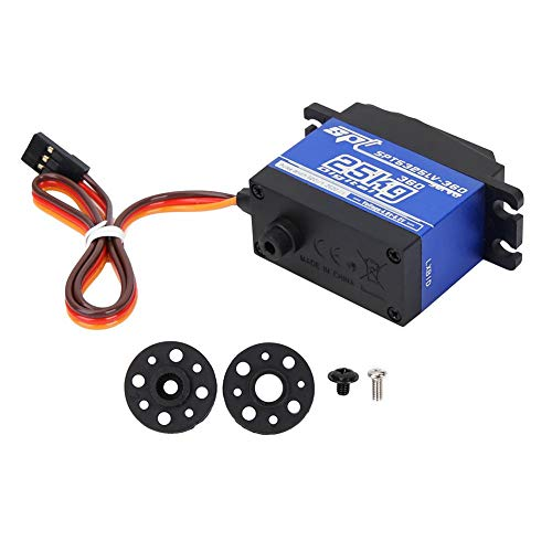 T best Digital Servo, 1500μs/ 330hz 360 Continuous Rotation SPT5525LV-360 25KG Standard Digital Servo for RC Car Robot