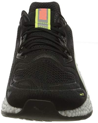 PUMA Speed Orbiter, Zapatillas de Running Hombre, Negro Black/Fizzy Yellow/Nrgy Peach White, 46 EU
