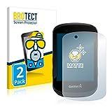 BROTECT 2X Entspiegelungs-Schutzfolie kompatibel mit Garmin Edge 530 / Edge 830 Bildschirmschutz-Folie Matt, Anti-Reflex, Anti-Fingerprint