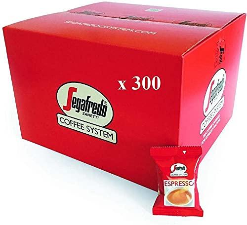 SEGAFREDO ZANETTI 300 CAPSULE ESPRESSO COFFEE SYSTEM