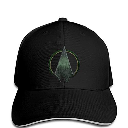 Baseball Cap Baseballmütze Herrenmode Casual Snapback Print Grafik Hüte Green Arrow Symbol