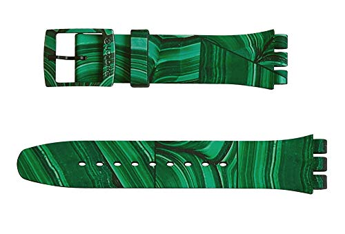 Swatch cinturino orologio MARMORA VERDE Originals New Gent ASUOB122
