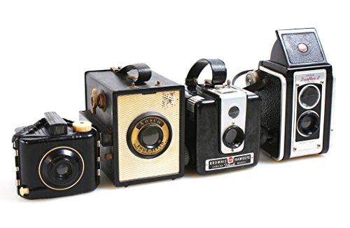 New Vintage Cameras, Set of 4