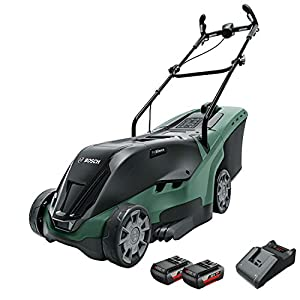 Bosch Rotak 37 LI - Cortacésped a batería: Amazon.es ...