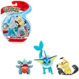 NEW Pokemon Battle Figure Set Vaporeon,Mimikyu