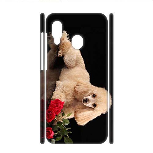 Compatible para Huawei Honor 8X Mujer Tener con Poodle Protector Cáscara del Teléfono Abs