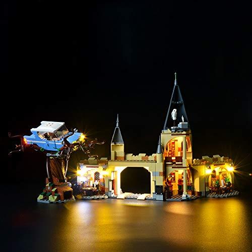 BRIKSMAX Kit de Iluminación Led para Harry Potter - Sauce Boxeador de Hogwarts-Compatible con Ladrillos de Construcción Lego Modelo 75953-Juego de Legos no Incluido