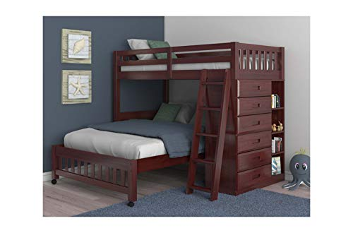 Discovery World Loft Bed Merlot