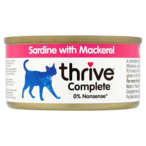 thrive Alleinfutter für Katzen mit Herd und Pferd (12 x 75 g) – 900 g