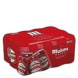 Mahou - 5 Estrellas - Cerveza Dorada Lager, 5.5% de Volumen de Alcohol, Pack de 12 x 33 cl