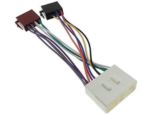 DAEWOO (2) radio ssangYong adaptateur autoradio dIN iSO connecteur de câble