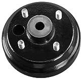 10L0L 19186G1P Brake Drum/Hub Assembly (Electric) for EZGO TXT