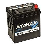 Numax Premium 054 Batterie Voitures, 12V 35Ah 300 Amps (En)