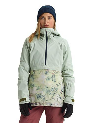Burton Womens Ak Gore-Tex Kimmy 2L Jacket, Aqua Gray/Sadie A, Large