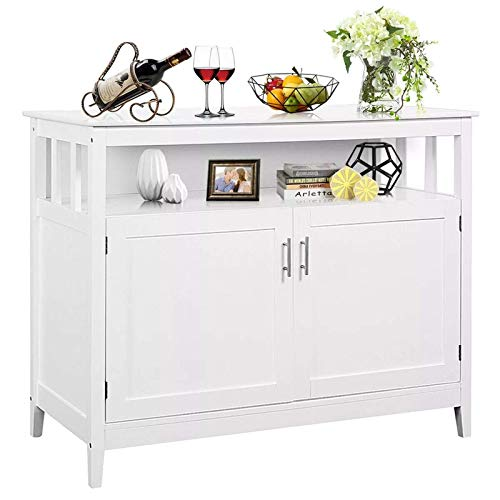 FTFTO Daily Equipment Sideboard Modern Kitchen Storage Cabinet Buffet Server Table Sideboard...