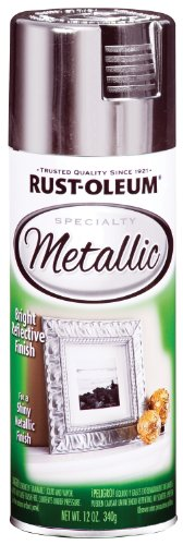 Silver Metallic Specialty Spray Paint [Set of 6]
