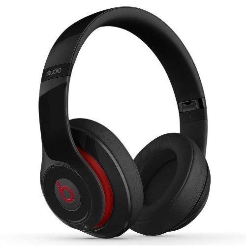 Beats Studio 2.0 Wired Over-Ear Headphone - Black (Renewed)