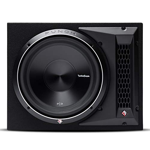 "Rockford Fosgate P3-1X12 Punch Single 12"" Ported Loaded Enclosure Subwoofer"