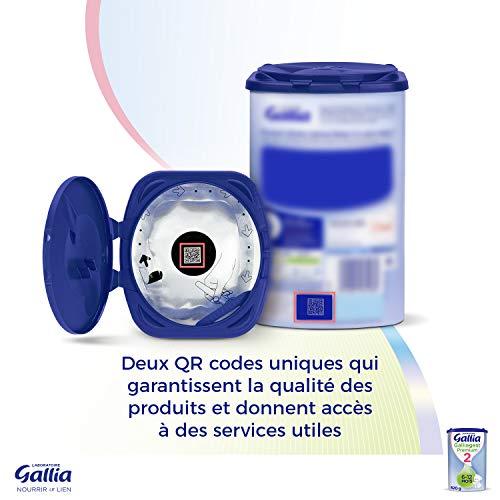 Laboratoire Gallia Galliagest Premium - Lait bébé 2ème âge en poudre de 6 à 12 mois 900 g - Lot...
