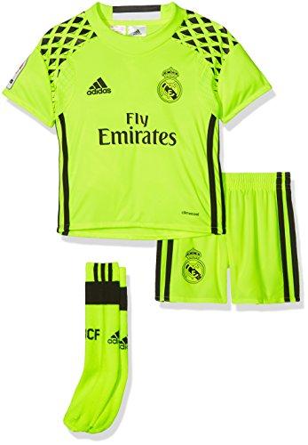 adidas Línea Real Madrid Cf Conjunto Deportivo, Niños, Amarillo (Syello/Black), 1-2 años