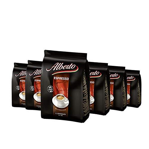 Alberto Kaffeepads Espresso 36er, 252 g / 6er Pack