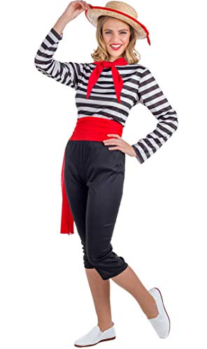 Banyant Toys Disfraz Gondolera Mujer: XL