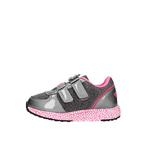 Lelli Kelly LK7870 COLORISSIMA Sneaker Bassa Vernice (34 EU, Grigio)