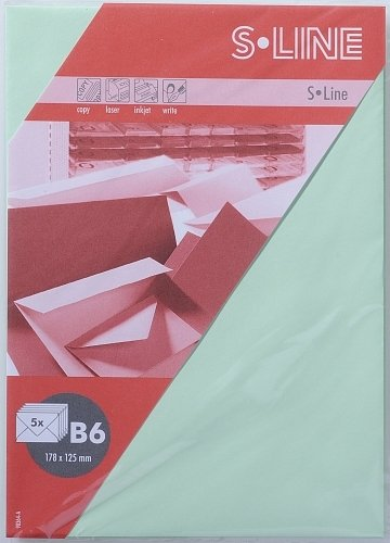ARTOZ Umschlag S-LINE 5 STÜCK KUVERT B6 PINK