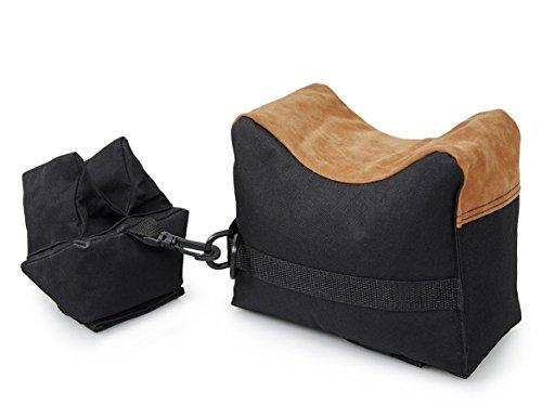 VIVOI Unfilled Shooting Rest Bag Front & Rear Bag Rifle Gun Sandbag for Outdoor Shooting